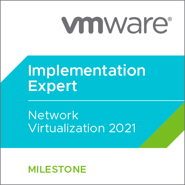 VMware Certified Implementation Expert - Network Virtualization 2019